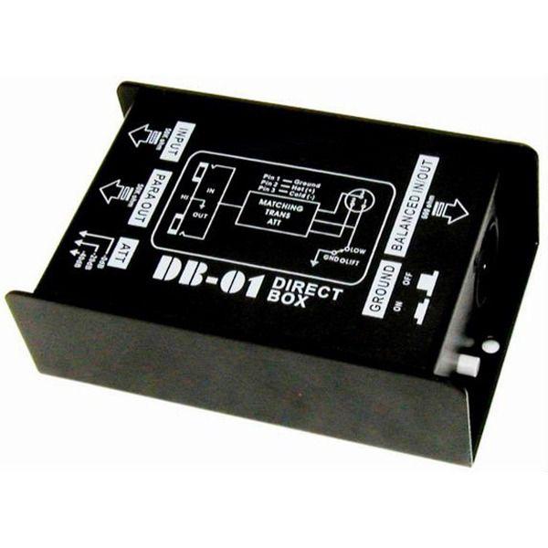 Direct Box Passivo Turbo Db-01 Profissional C/ 1 Canal