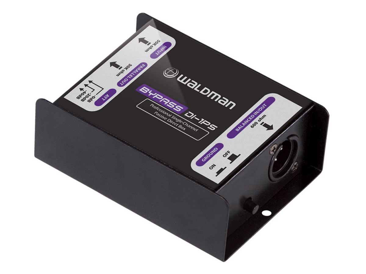 Direct Box Passivo Waldman Bypass DI-1PS - 1 canal
