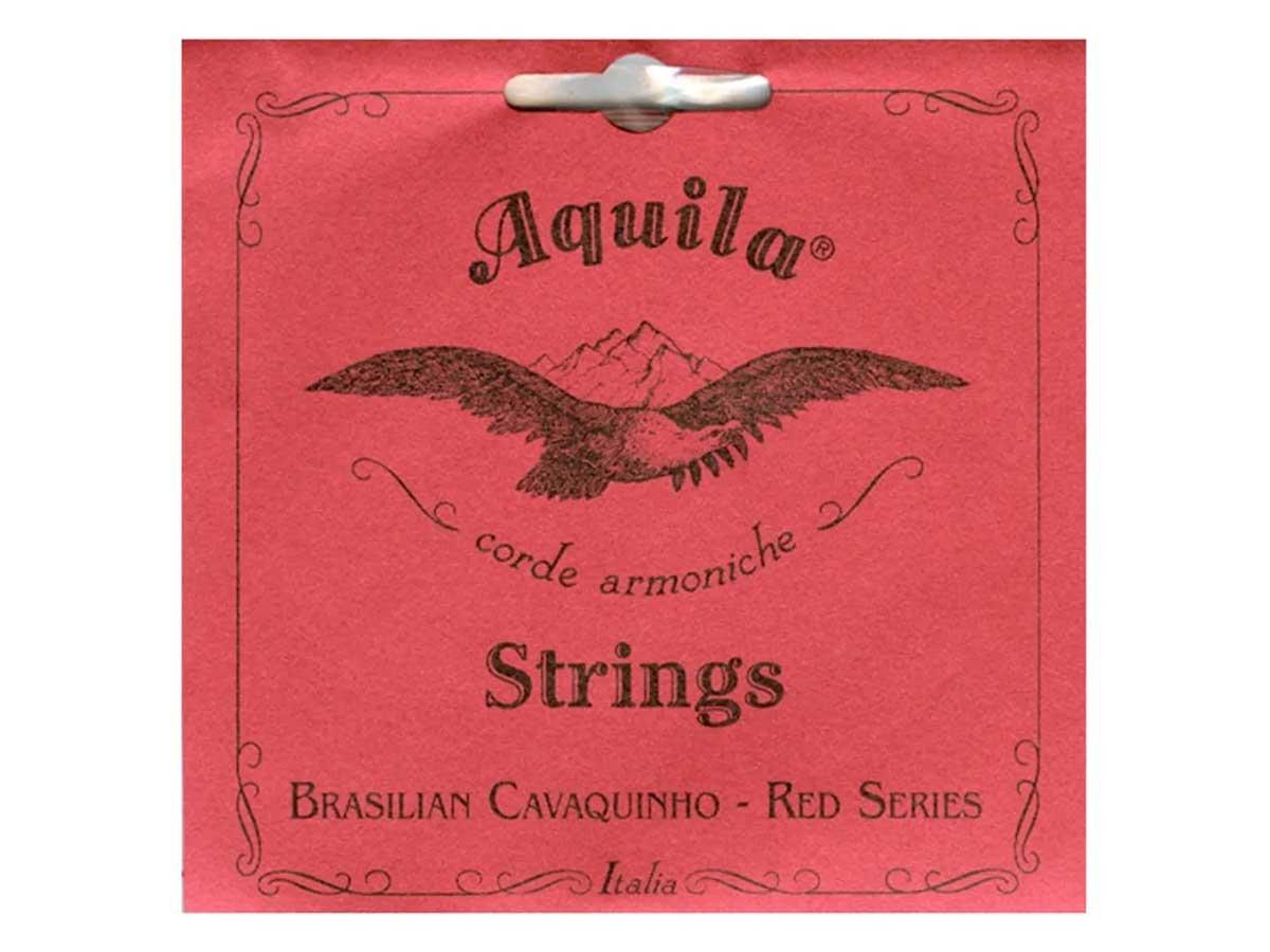 Encordoamento de Nylon para Cavaquinho Aquila Red Series 15CH
