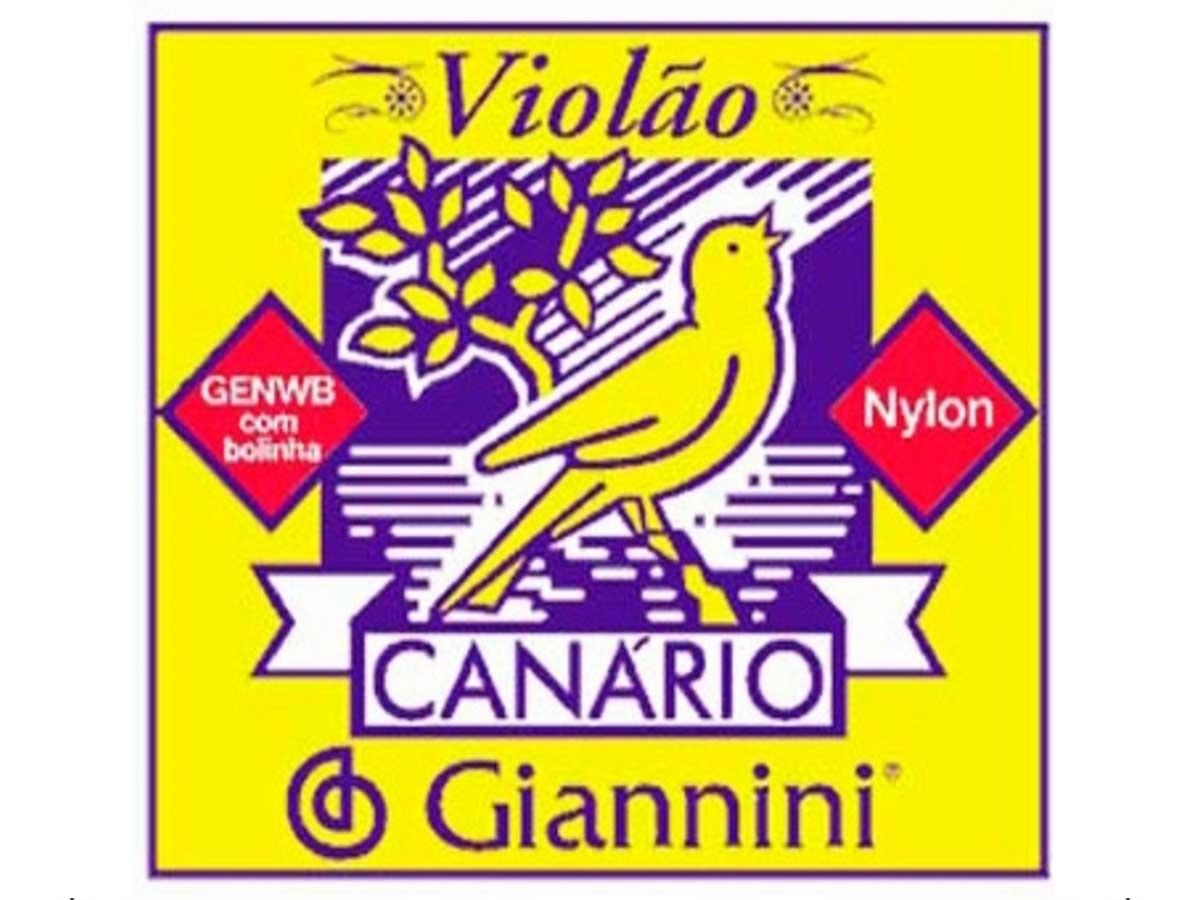 Encordoamento Giannini Canário para Violão Nylon com Bolinha GENWB