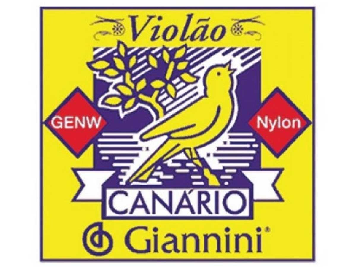 Encordoamento Giannini Canário para Violão Nylon GENW