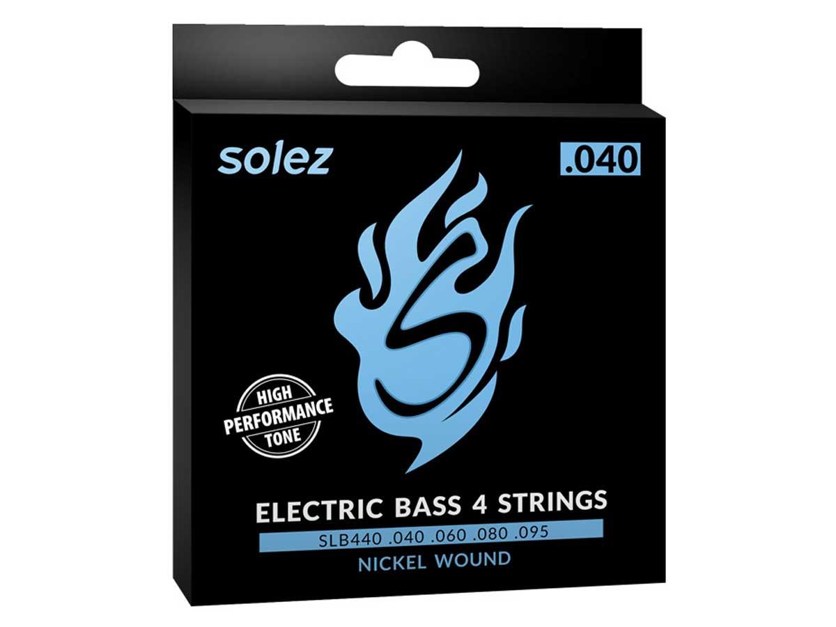 Encordoamento Solez para Contrabaixo 4 cordas .040 - SLB440