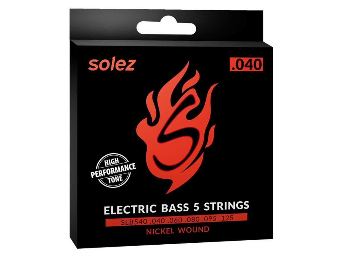 Encordoamento Solez para Contrabaixo 5 cordas .040 - SLB540
