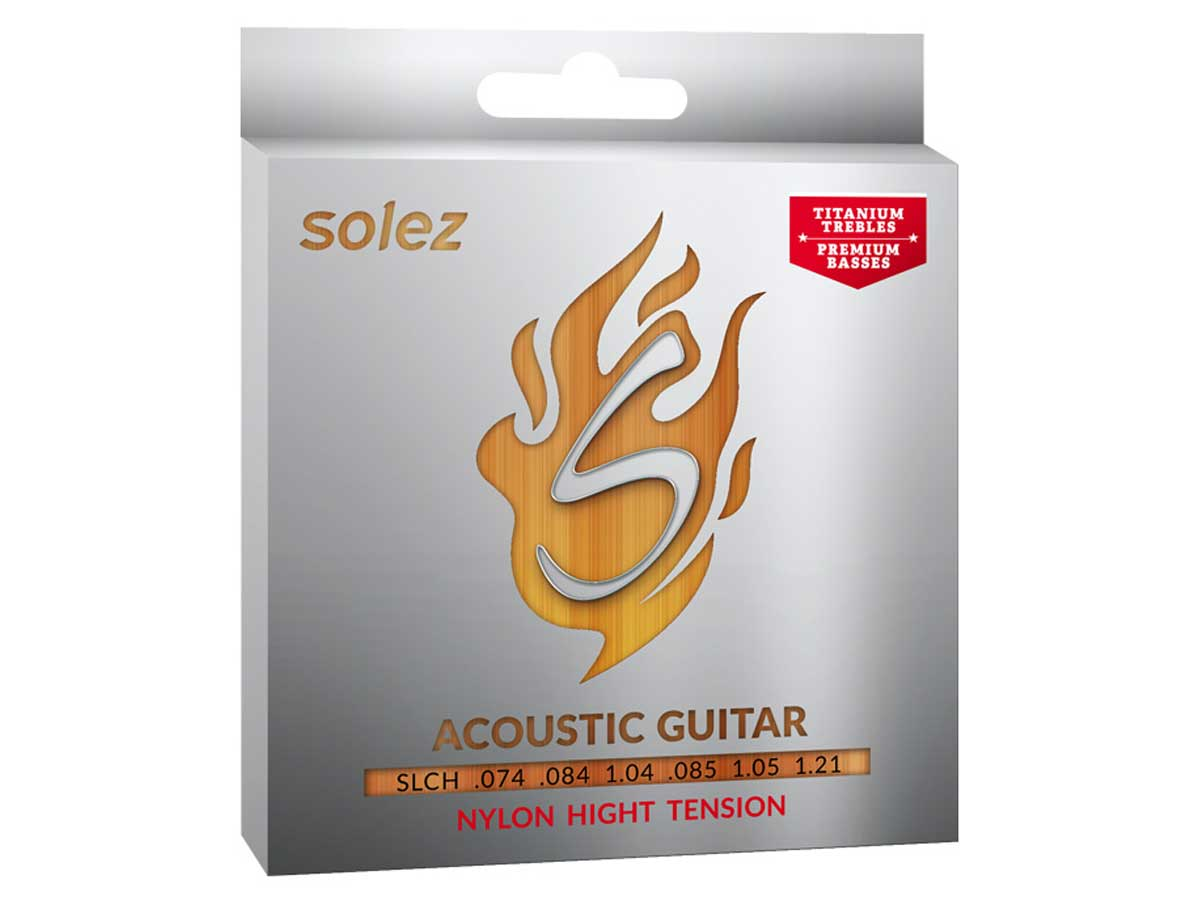 Encordoamento Solez para Violão Nylon High Tension SLCH