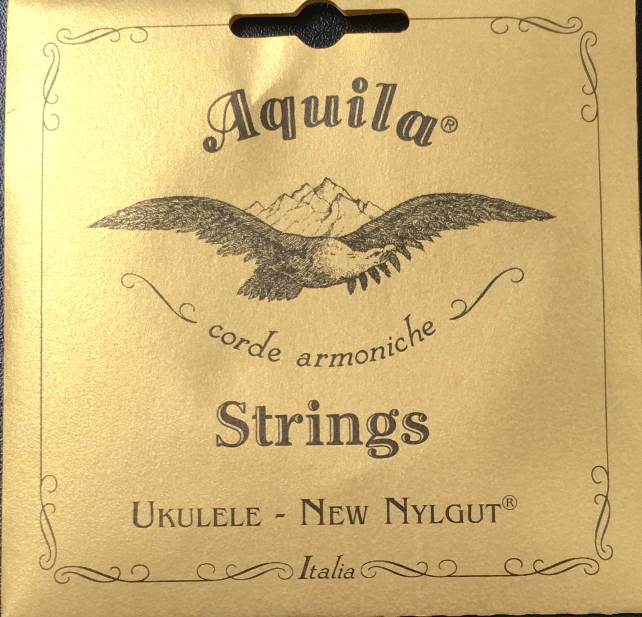 Encordoamento Ukulele Aquila Soprano New Nylgut High G - AQ4U