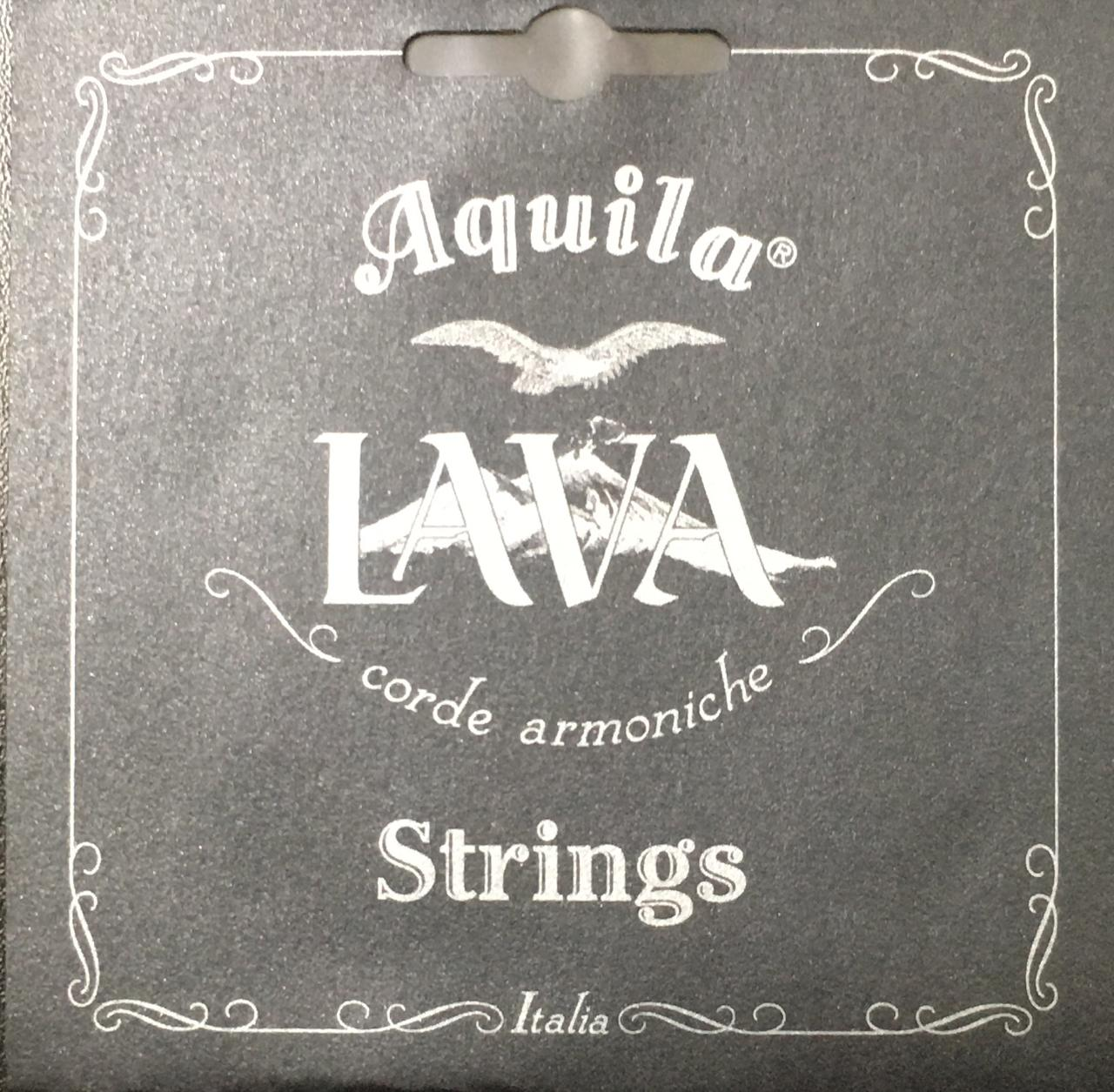 Encordoamento Ukulele Aquila Tenor Lava series High G - AQ 114U