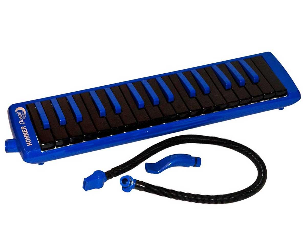 Escaleta Hohner - Melódica Ocean - Azul e Preta