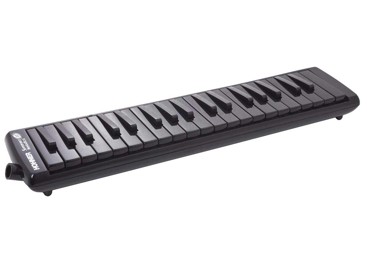 Escaleta Hohner - Melódica Superforce 37 - Black Piano