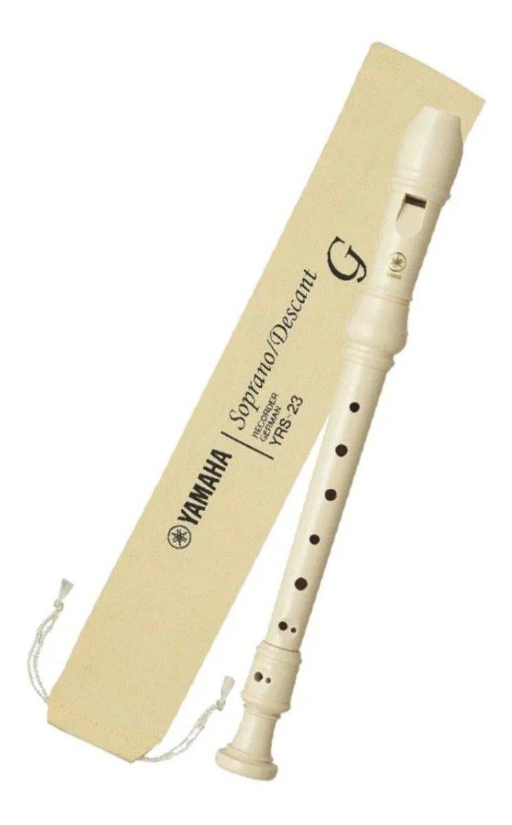 Flauta Doce Yamaha Soprano Germânica YRS23G