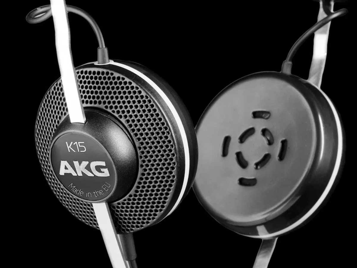 Fone de Ouvido AKG K15 On-ear