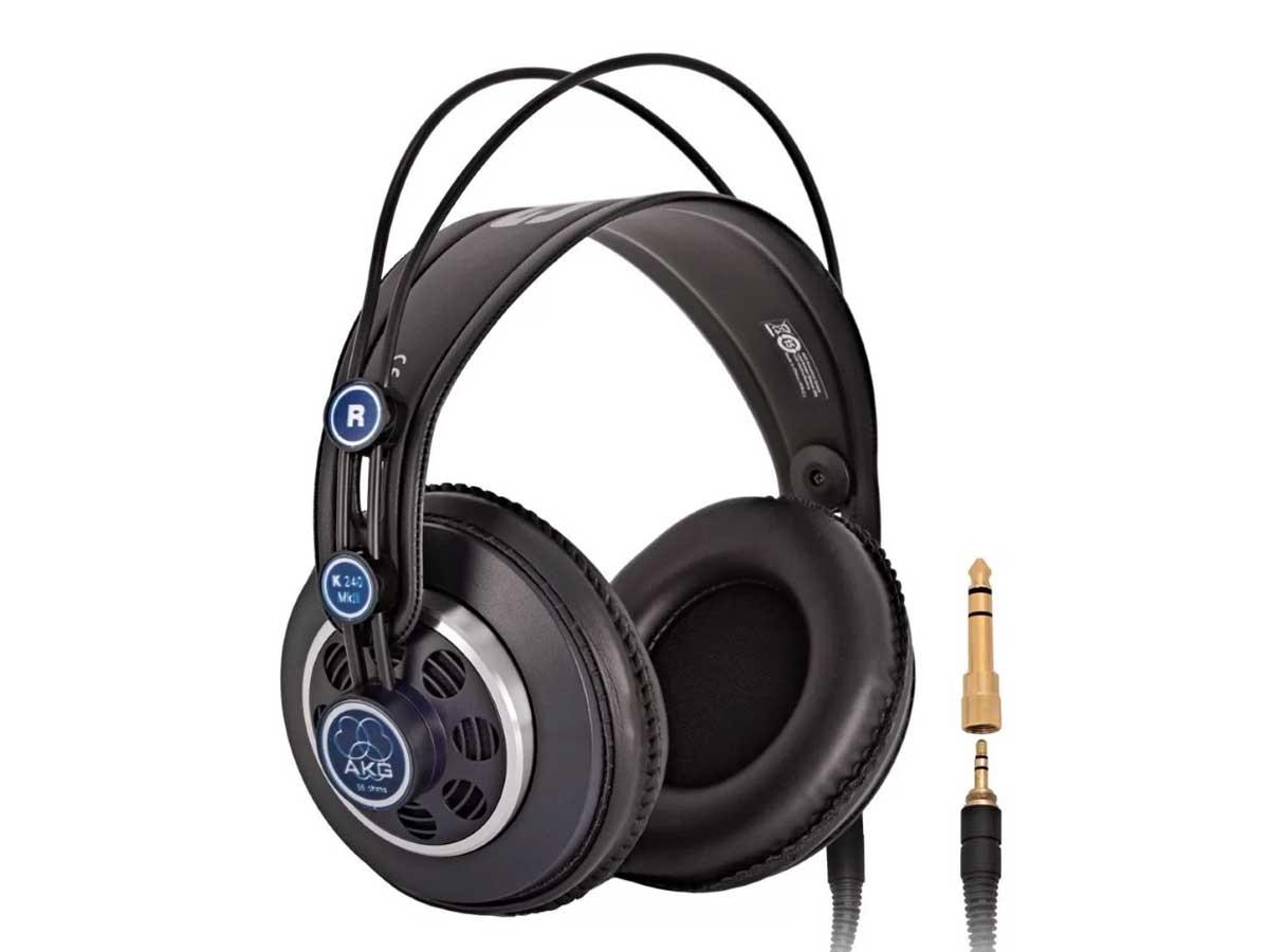 Fone De Ouvido Akg K240 MKII MK2 Gravação Estúdio Headphone