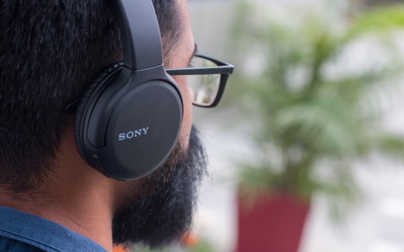 Fone de ouvido Bluetooth Sony WH-CH510