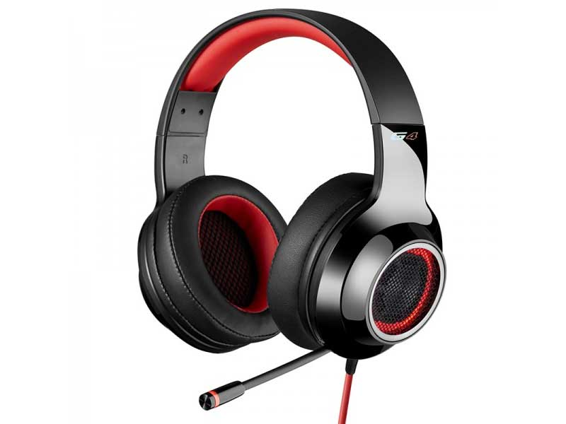 Fone de ouvido Edifier G4 Headset Gamer 7.1 Virtual Over-Ear