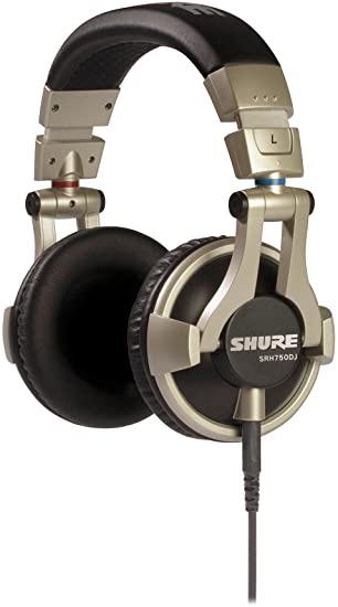 Fone de Ouvido Shure para DJ SRH750DJ Profissional