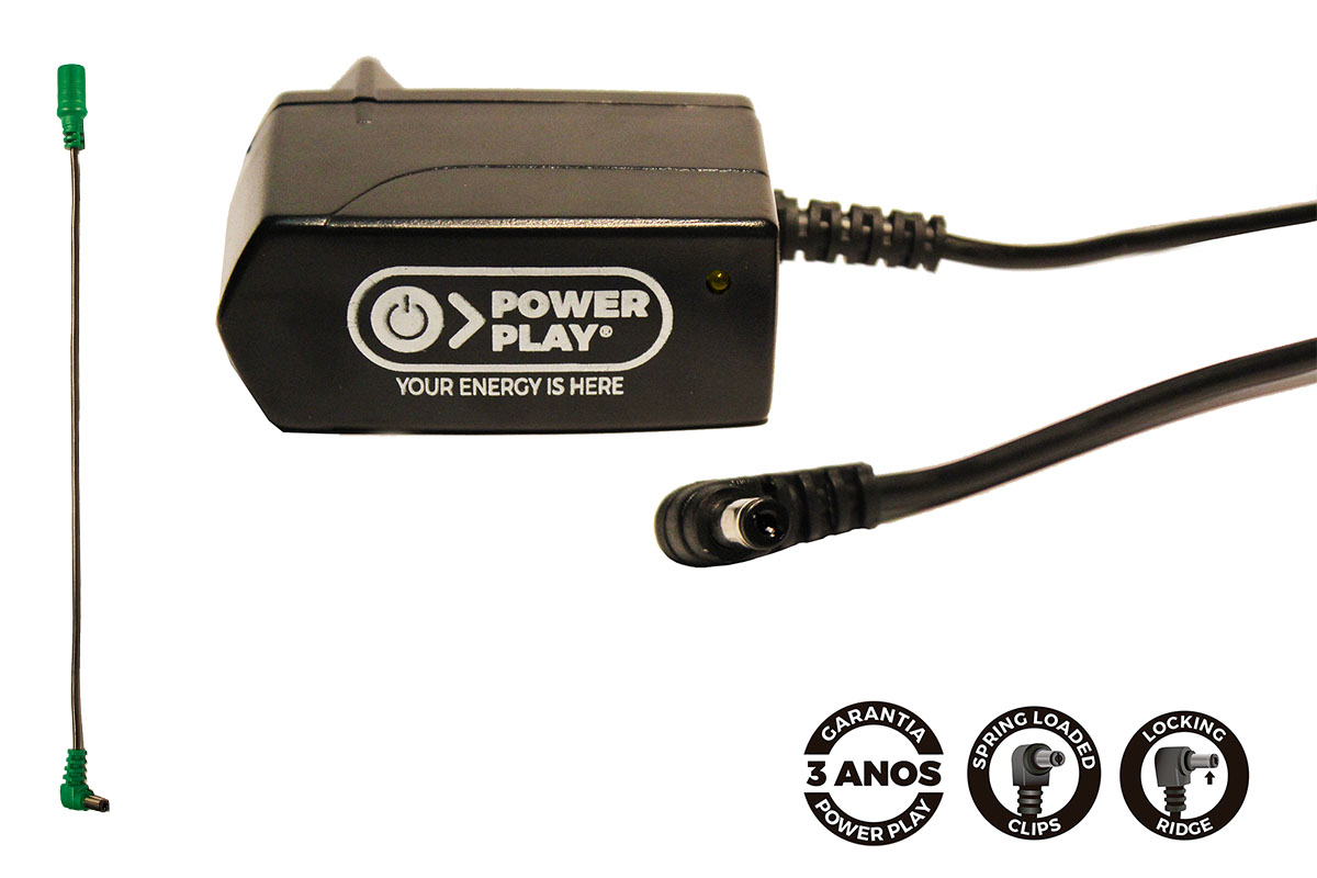 Fonte para microfones sem fio Power Play Power Mic