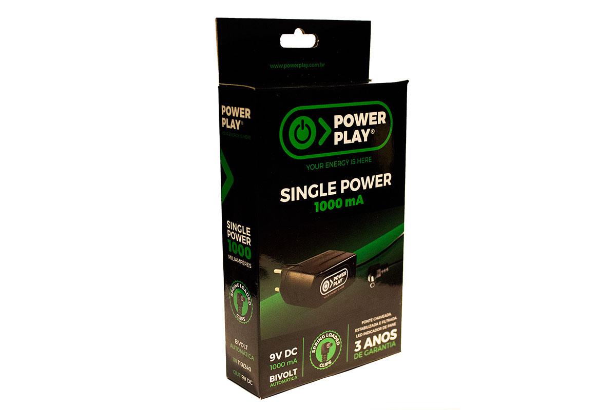 Fonte para pedal 9V Power Play Single Power
