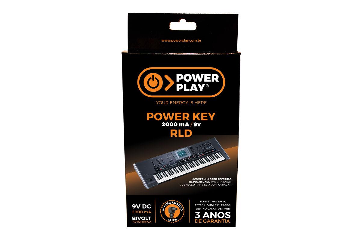 Fonte para Teclados Roland Power Play RLD Power Key