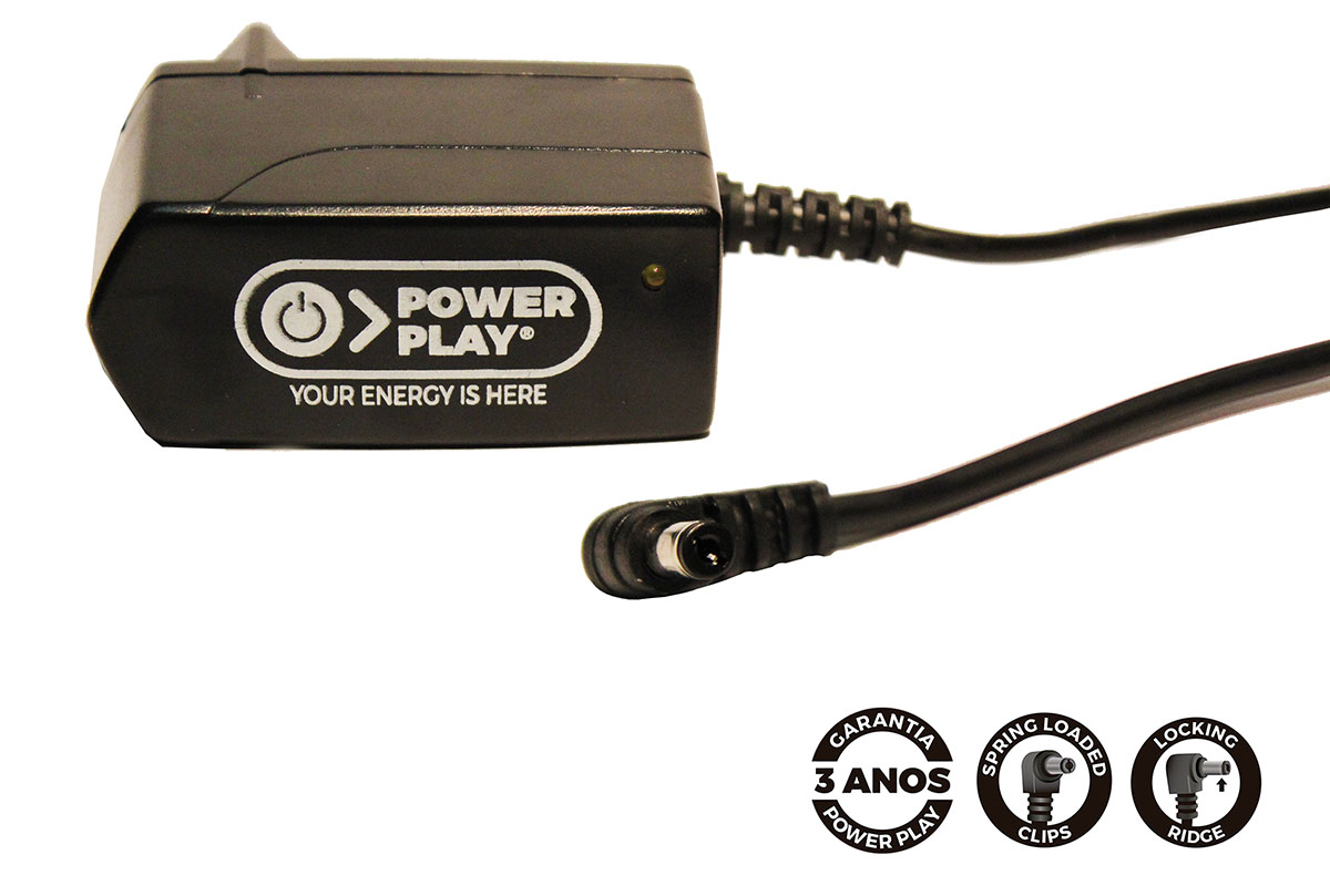 Fonte Power Play Single Power 12v 1000mA