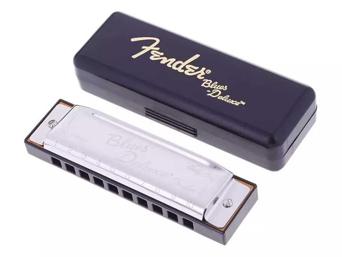 Gaita Fender Blues Deluxe em Dó (C)
