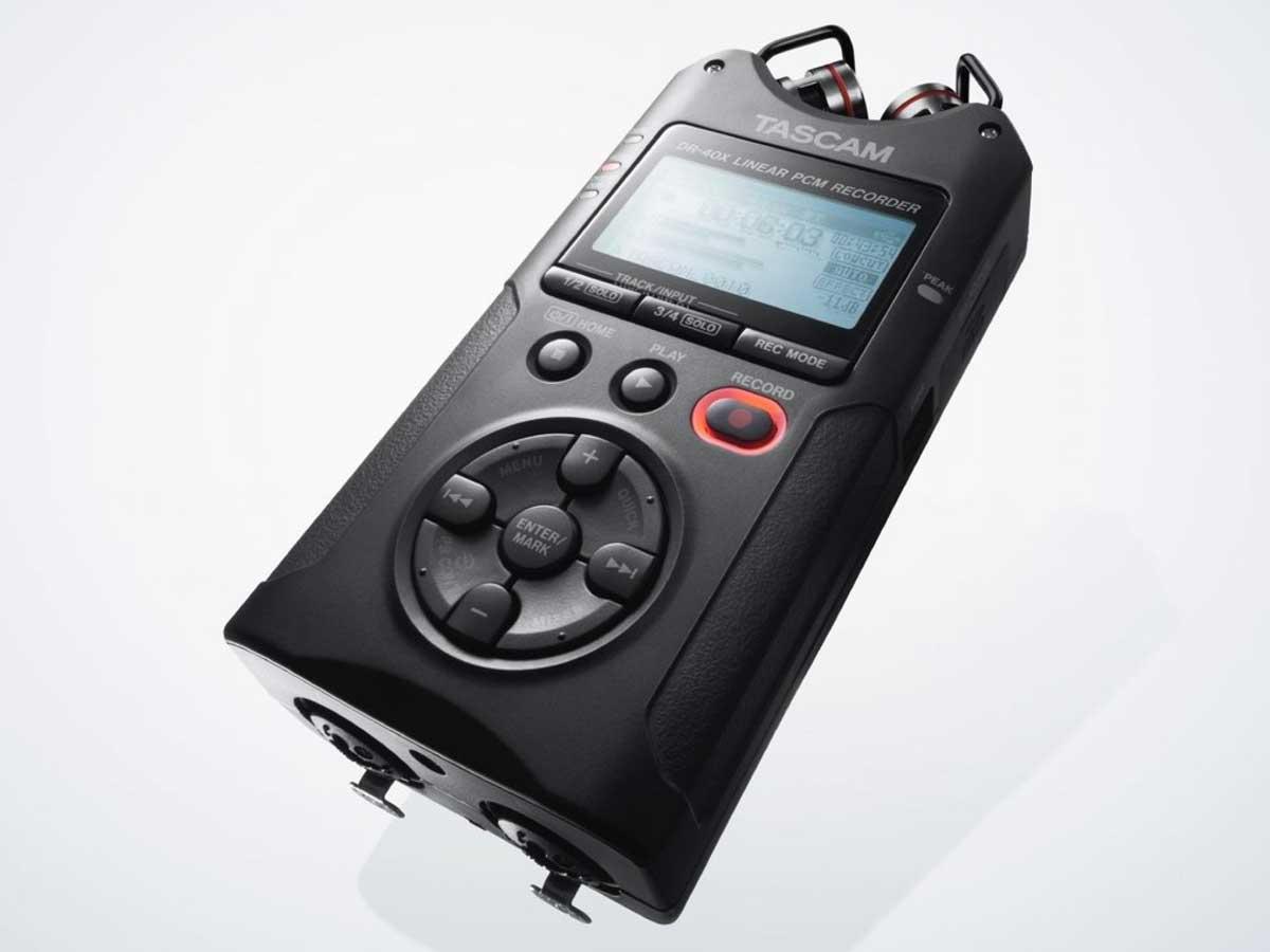 Gravador Digital Tascam Dr-40X '