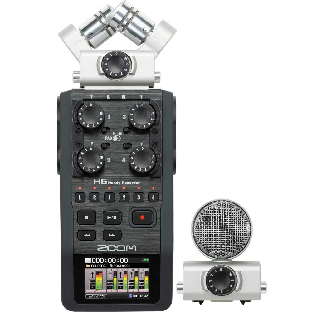 Gravador Zoom H6 '