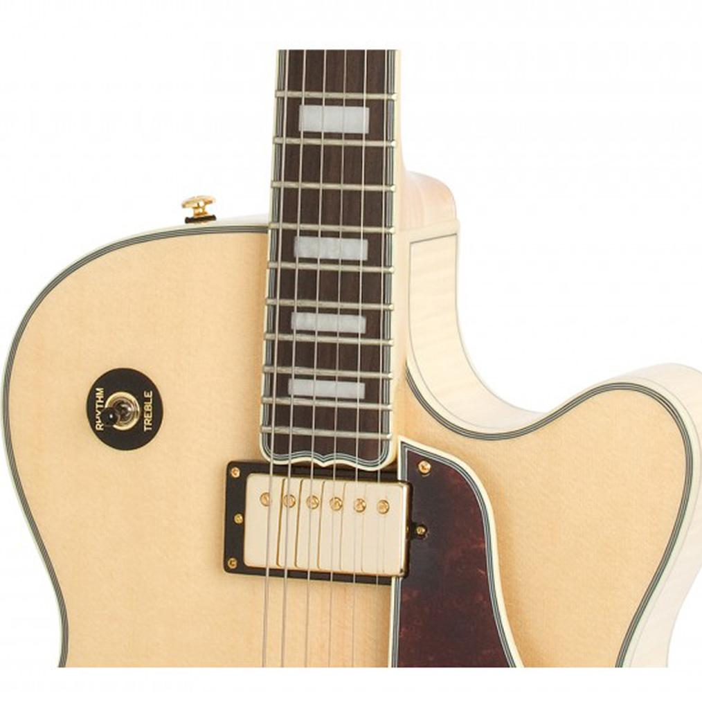 Guitarra Epiphone Joe Pass Emperor II Natural 10030032 *