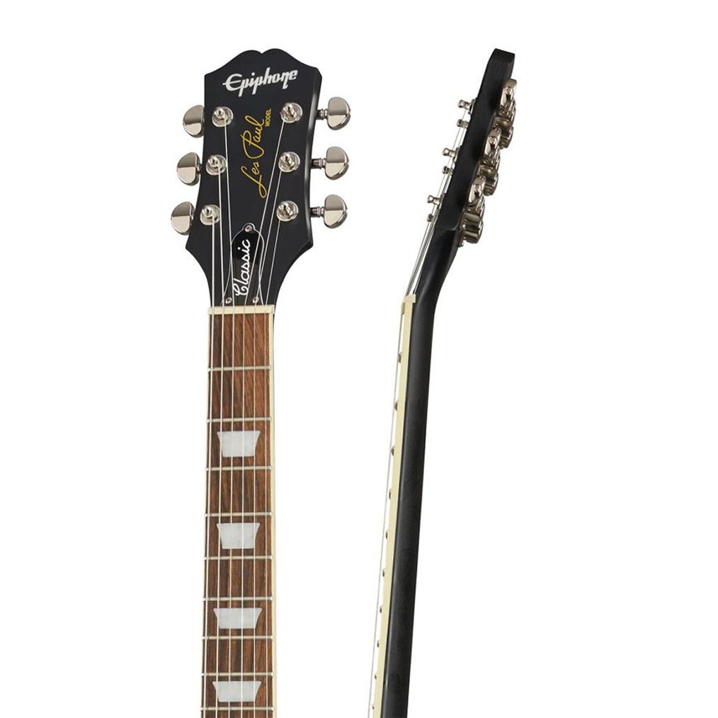 Guitarra Epiphone Les Paul Classic Worn Ebony 10030704 *