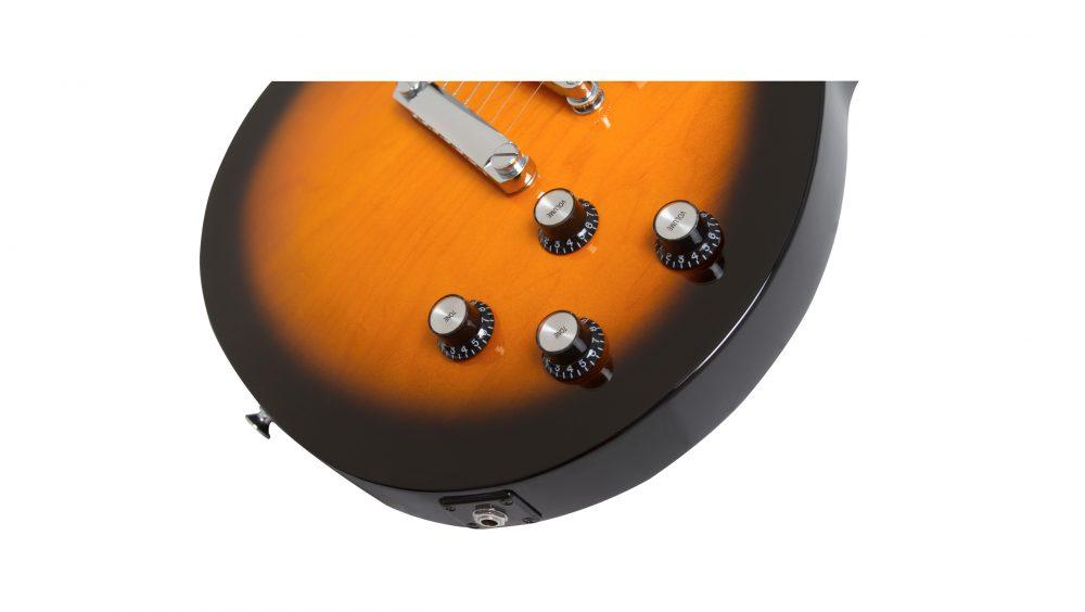 Guitarra Epiphone Les Paul Studio LT Vintage Sunburst 10030657 *