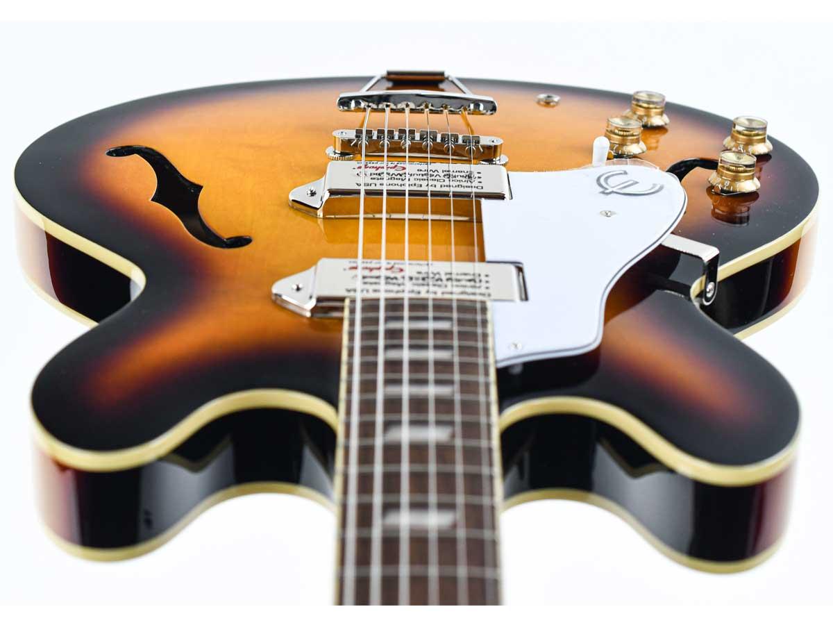 Guitarra Semi Acústica Epiphone Casino Vintage Sunburst 10030185 *