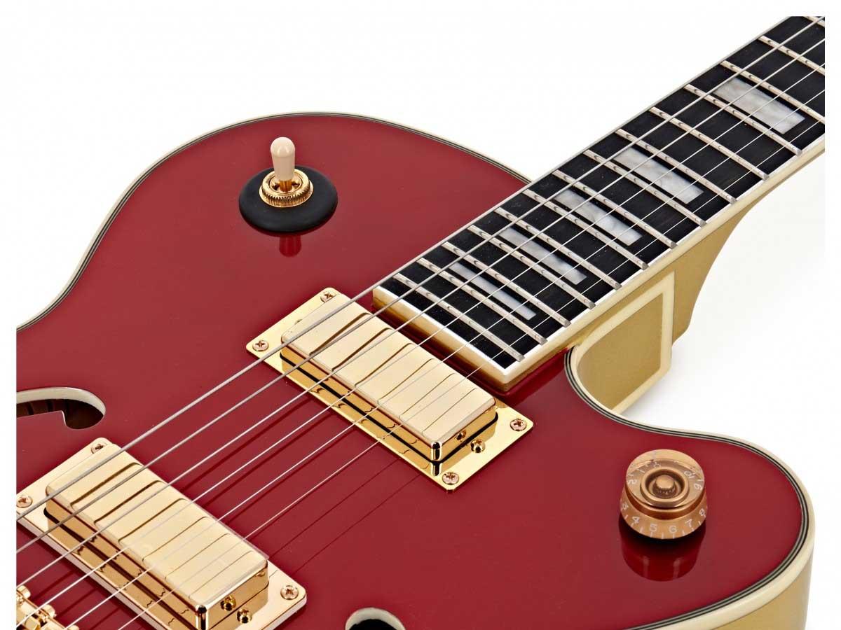 Guitarra Semi Acústica Epiphone Uptown Kat ES Ruby Red Metallic 10030754 *