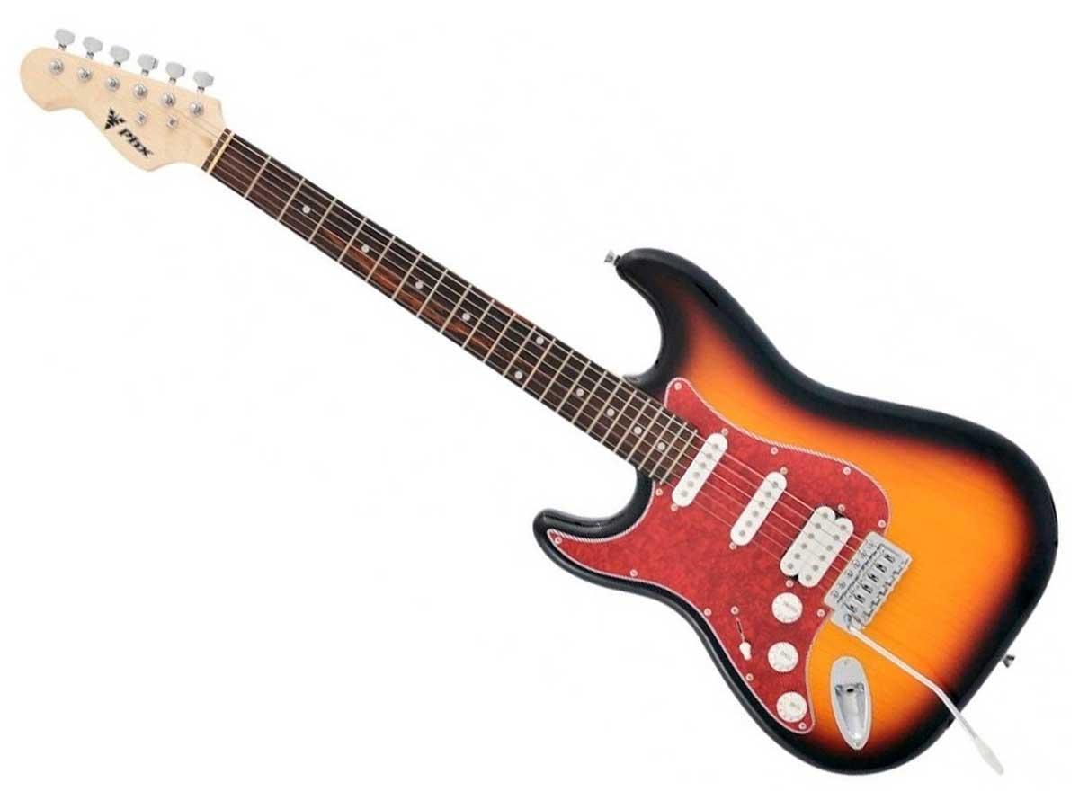 Guitarra Stratocaster PHX Strato Power para Canhoto