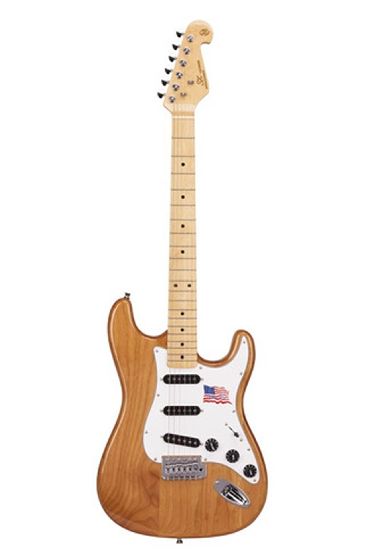 Guitarra SX SST ALDER em American Alder