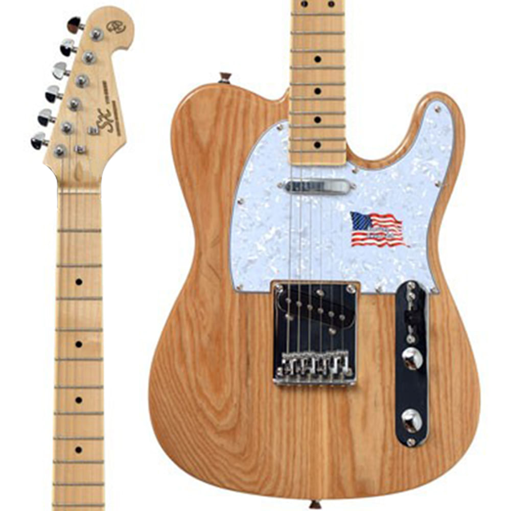 Guitarra SX STLASH Telecaster Vintage Swamp em Ash