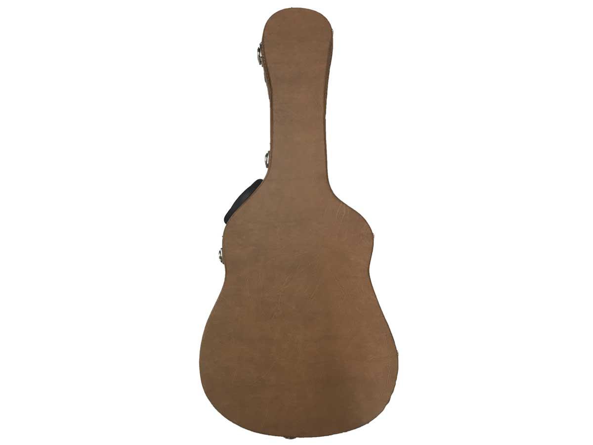 Hard Case Estojo Super Luxo para Violão Folk 6 Cordas Upcases