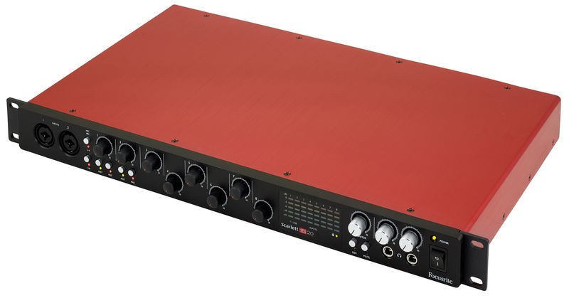 Interface de Áudio Focusrite Scarlett 18i20 - 2nd Gen.