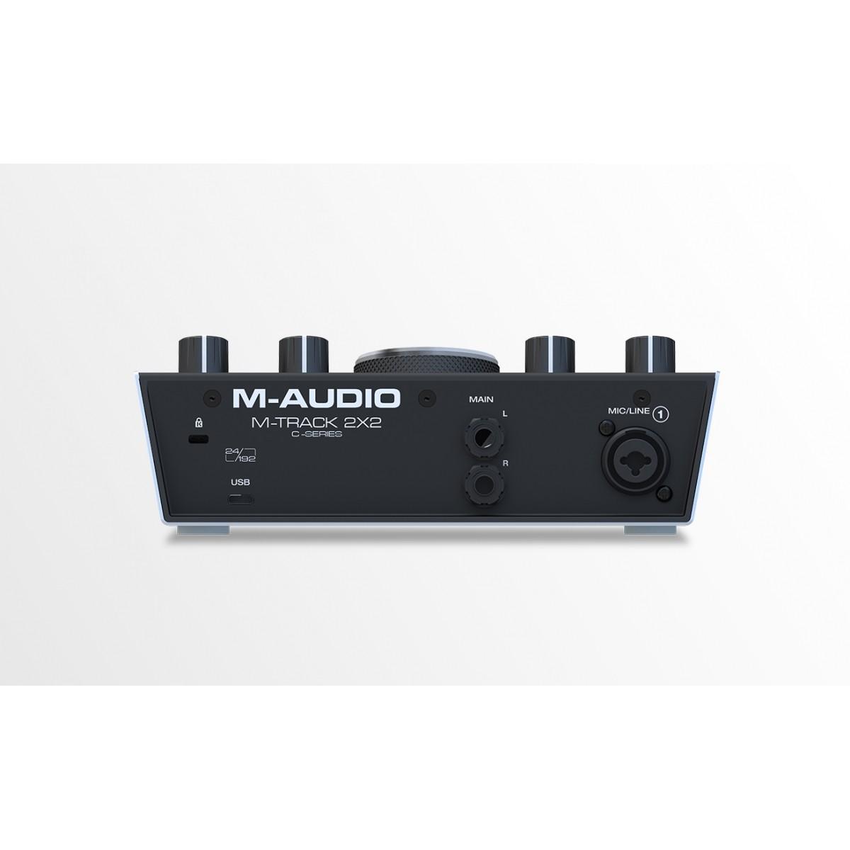 Interface de Áudio M-Audio M-Track 2x2