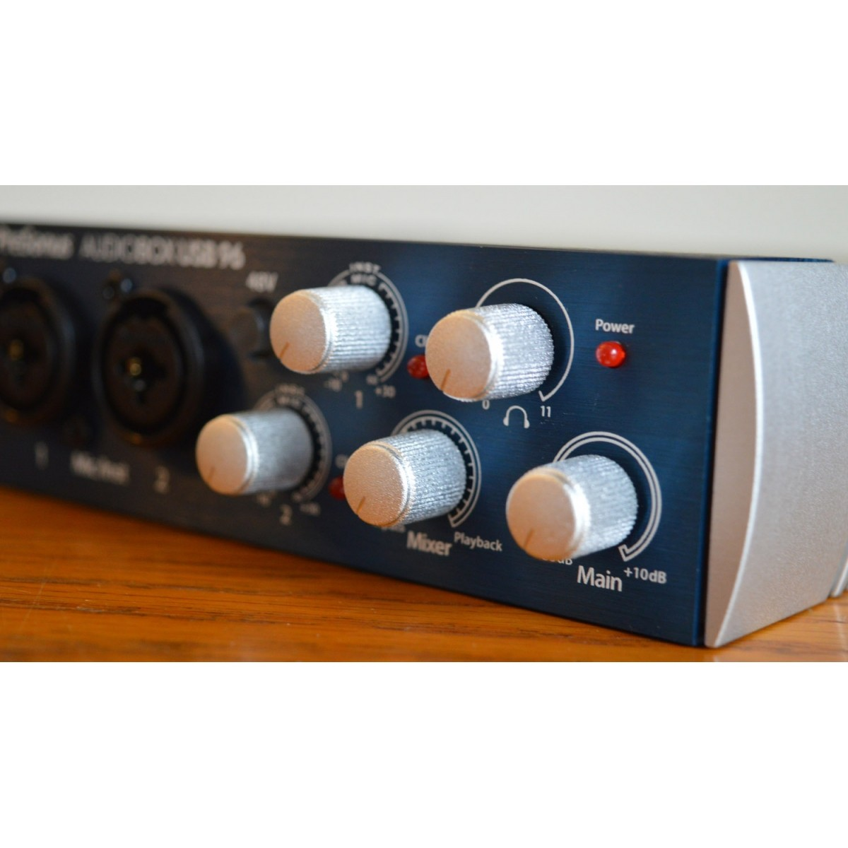 Interface de Áudio PreSonus AudioBox USB 96