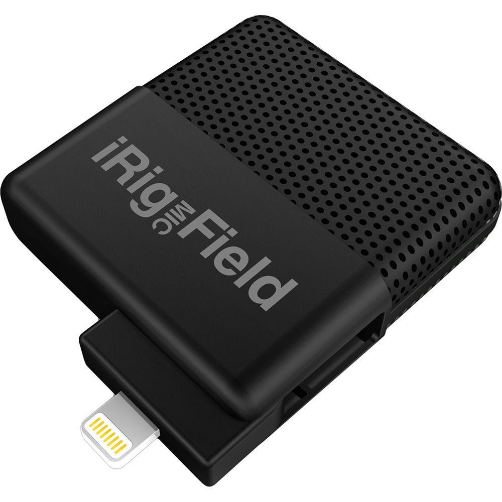 iRig Mic Field - Microfone para Smartphone Podcast Youtube