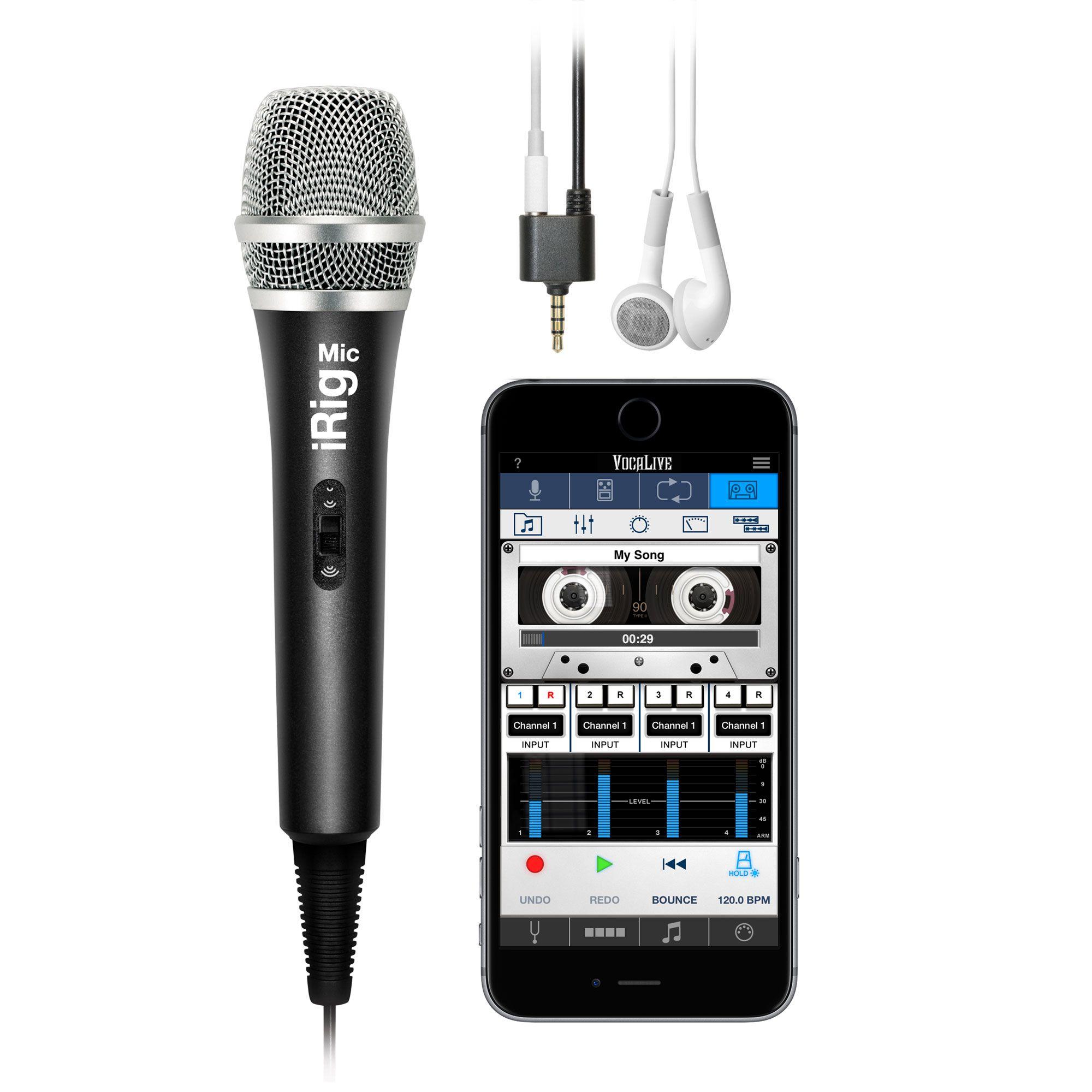 iRig Mic - Microfone para Smartphones