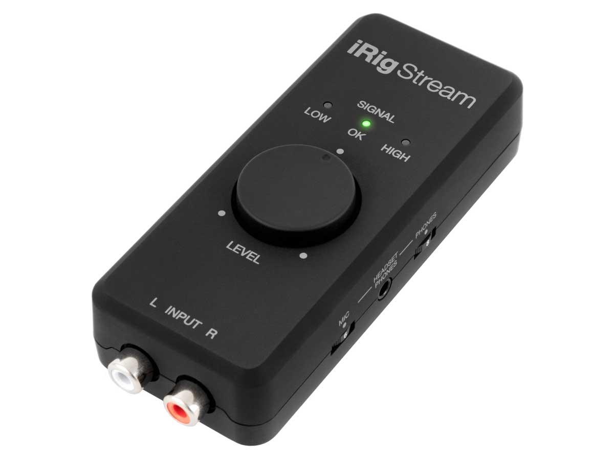 Irig Stream - Interface de áudio para Lives
