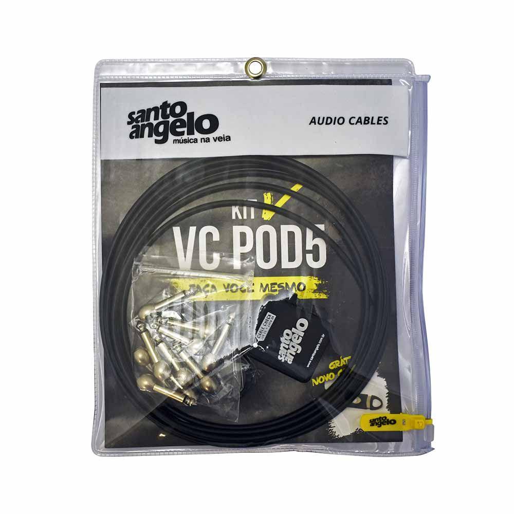 Kit de Cabos para pedais Santo Angelo VC POD 5