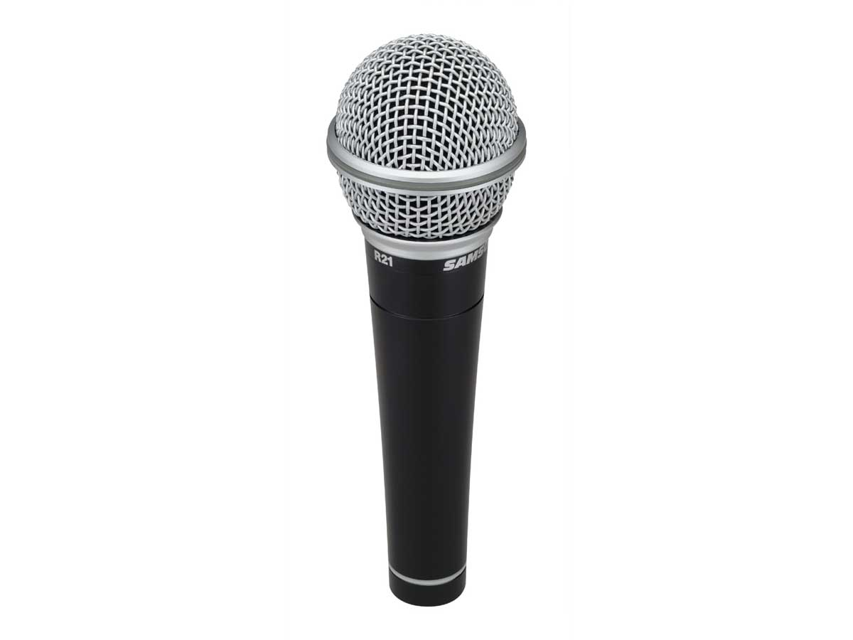 Kit de Microfone Dinâmico Samson R21 - 3 pack
