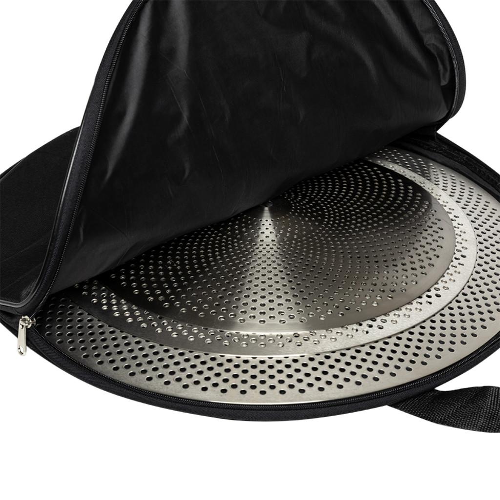 Kit de Pratos para Bateria Stagg Silent SX Set com Bag