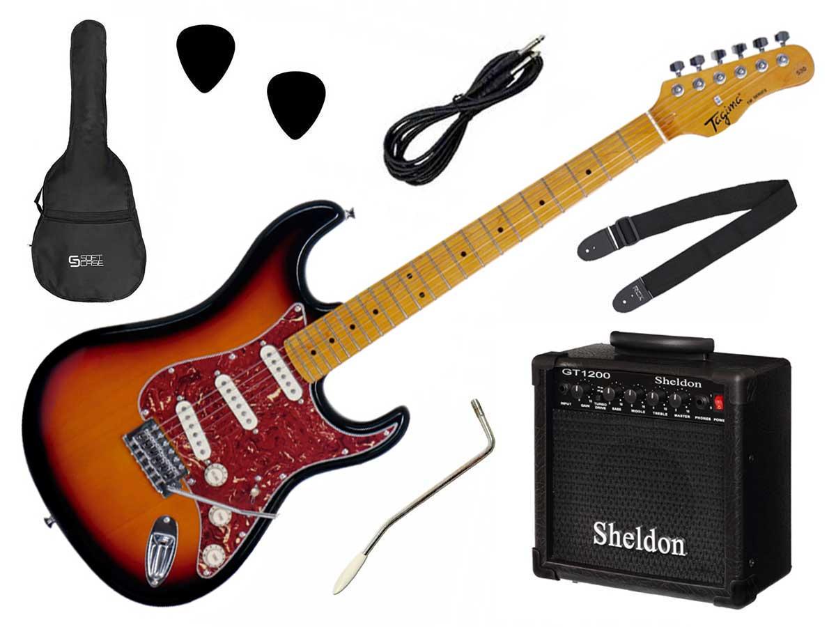 Kit Guitarra Tagima TG-530 + Amp Sheldon GT1200
