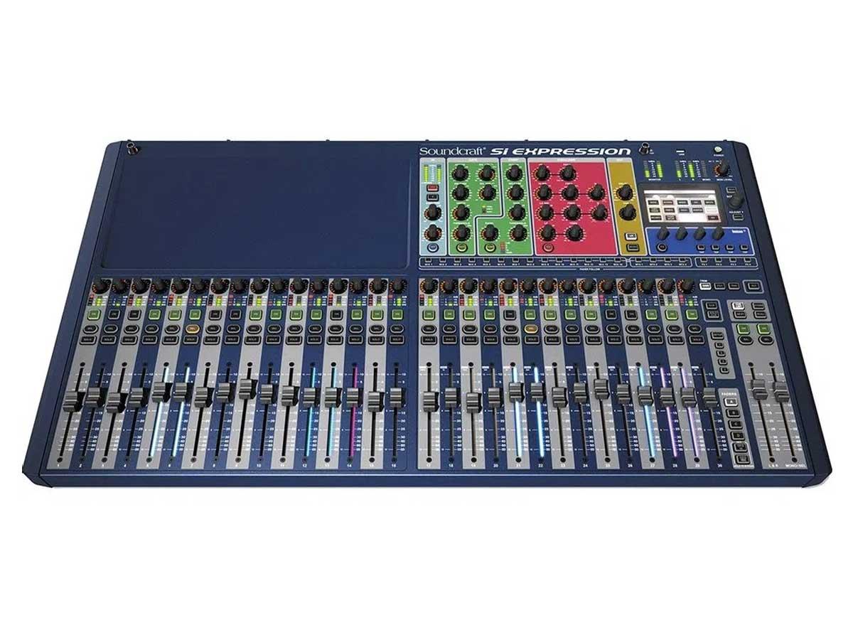 Mesa de Som Profissional Soundcraft SI Expression 3