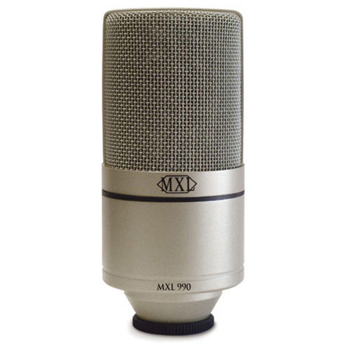 Microfone Condensador para Estúdio MXL 990