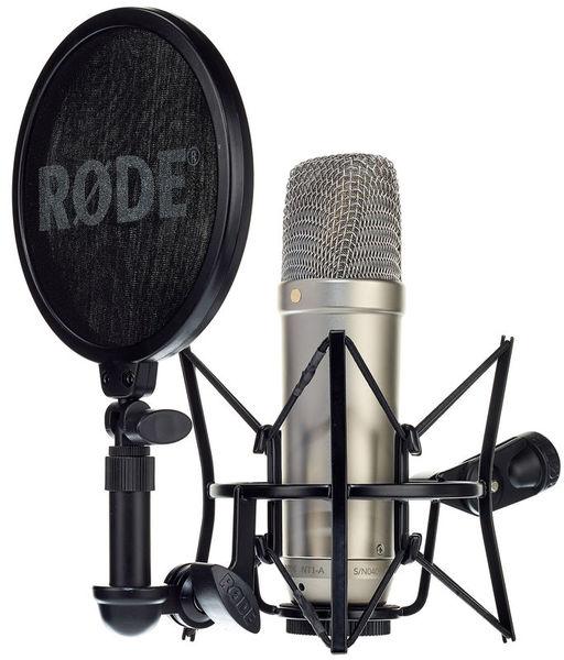 Microfone Condensador Rode NT1-A - Kit completo