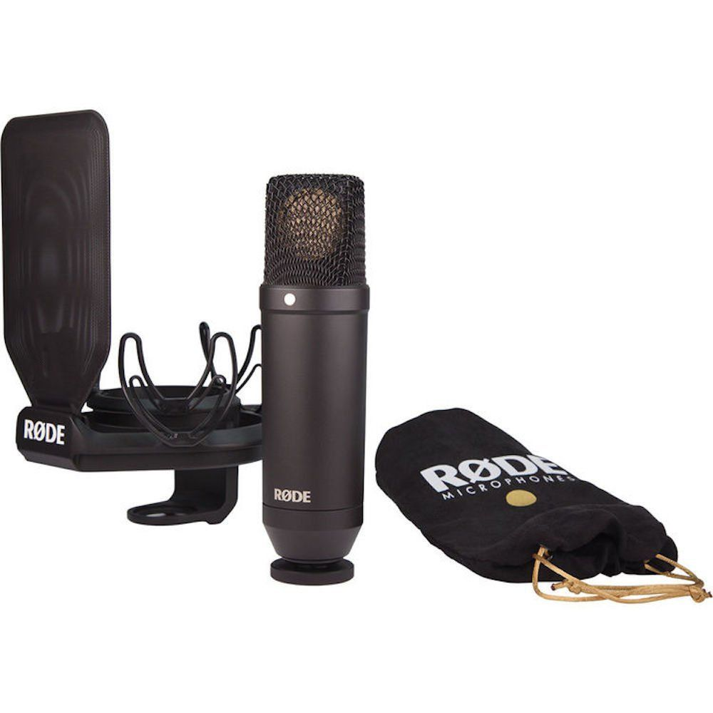 Microfone Condensador Rode NT1 - Kit completo