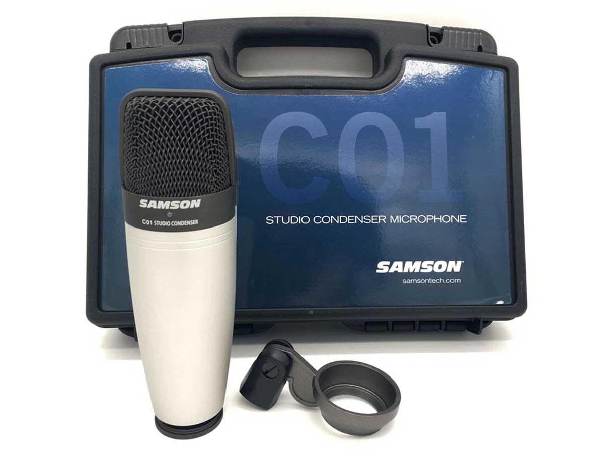 Microfone Condensador Samson C01