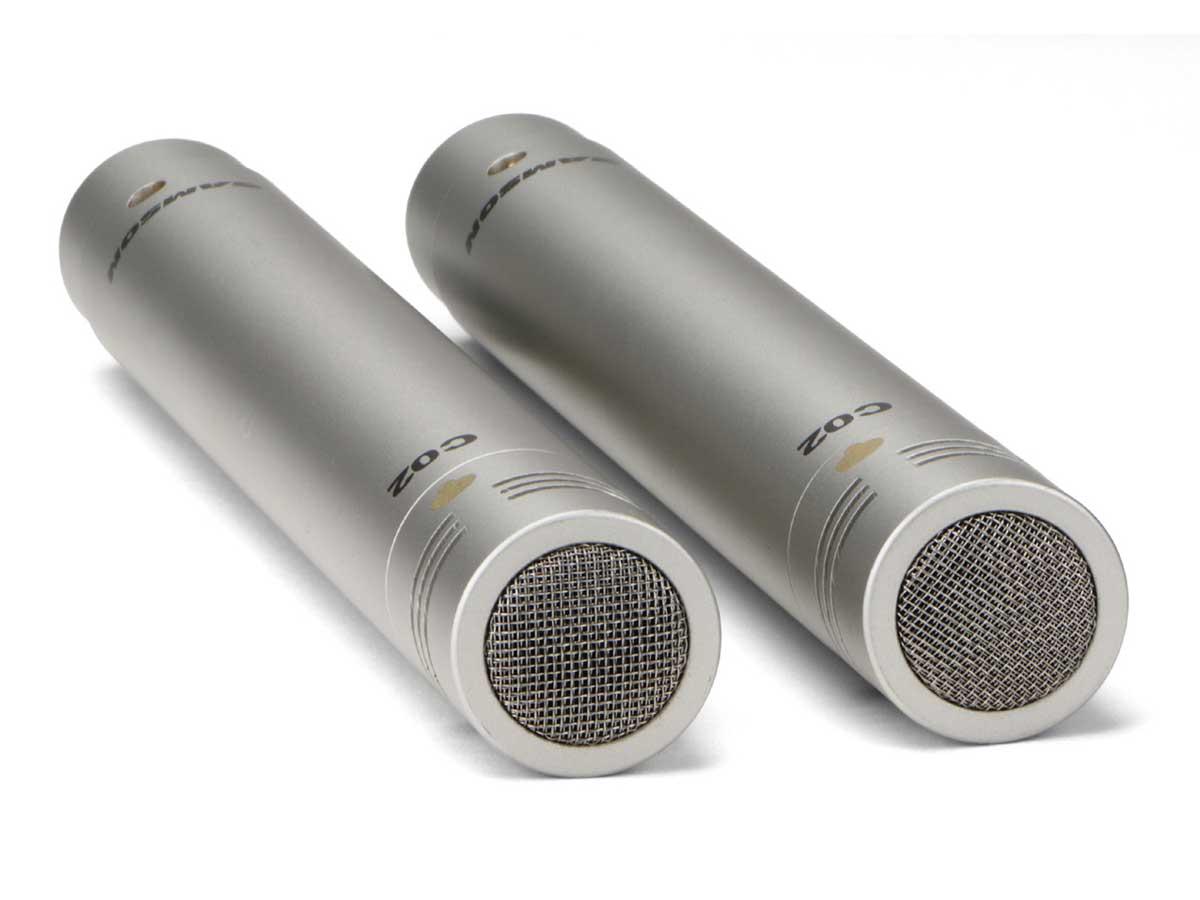 Microfone Condensador Samson C02 - O par